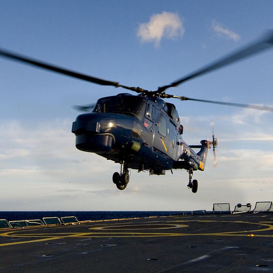 On Deck Verfahranlage für Helikopter