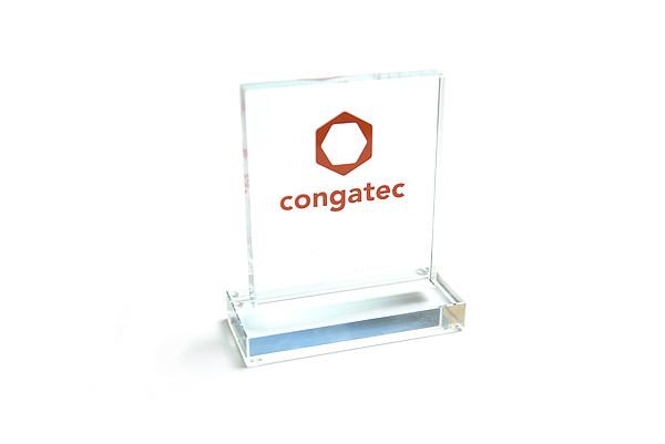 congatec Auszeichnung - Best New Entry Award 2014