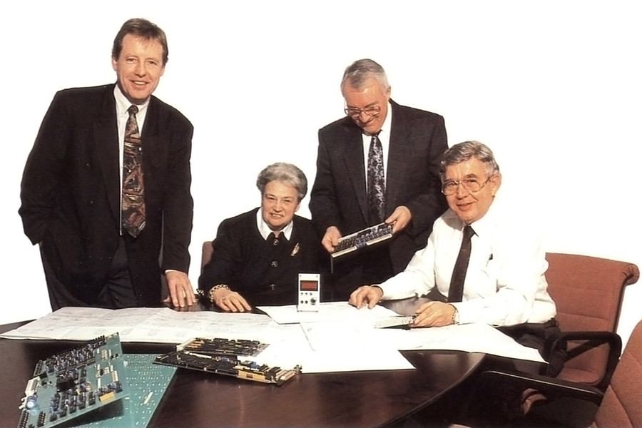 1984: Eintritt von Dr. Gerhard Steger als Technischer Leiter