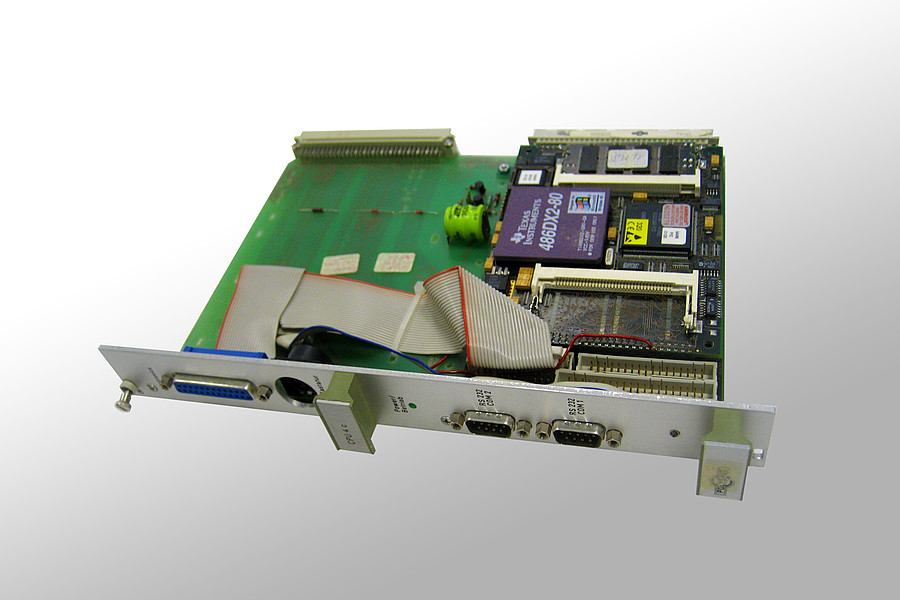 1993: Einsatz des ersten embedded Rechnermoduls 'AT96-Sdisk1' der Firma JUMP