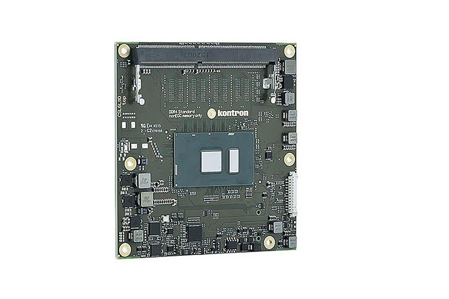 COMe-cSL6 - COM Express Typ 6 Compact Modul von Kontron