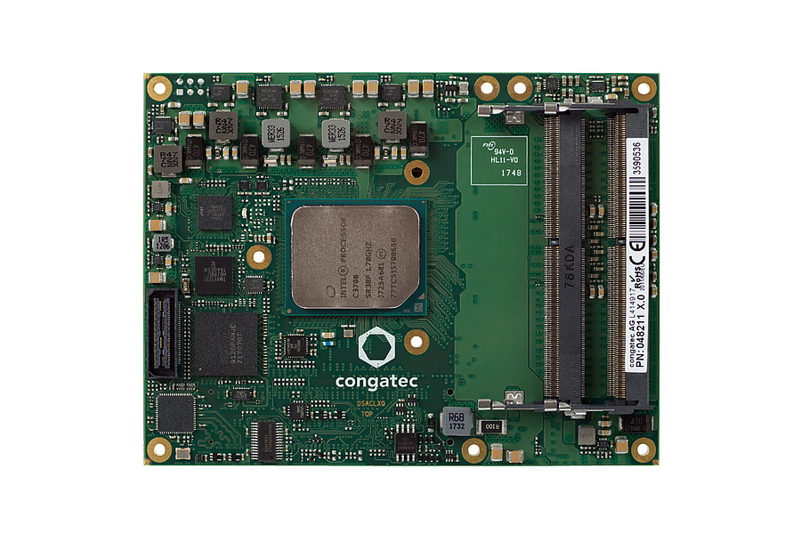 conga-B7AC - COM Express Basic Typ 7 Modul von congatec