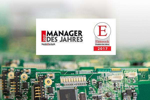 Zwei Nominierungen - Manager des Jahres & Produkt des Jahres 2017