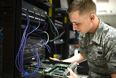 High Security Server - 19 inch server for military applications