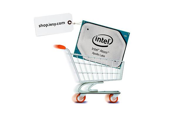 iesy Webshop eröffnet - Schnell und einfach online bestellen im iesy Online-Shop