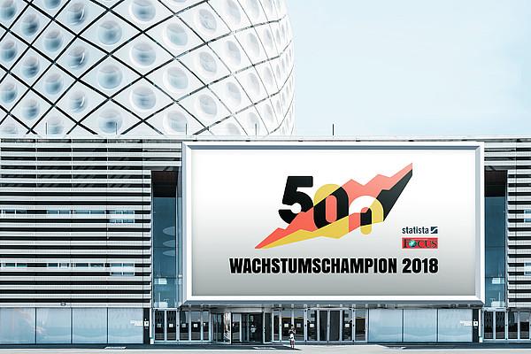 Wachstumschampion 2018 - iesy ist einer von 500 Wachstumschampions