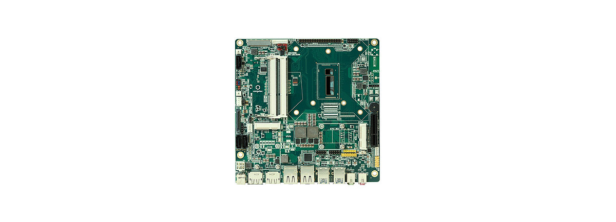 Featuring 170 mm x 170 mm, Mini-ITX is the most universal single-board computer in our portfolio, electrically compatible with all common types of ATX power supply.  This form factor is perfectly suited for multimedia and gaming applications. Moreover, it provides high connectivity plus numerous industrial features, all of which are available long-term.