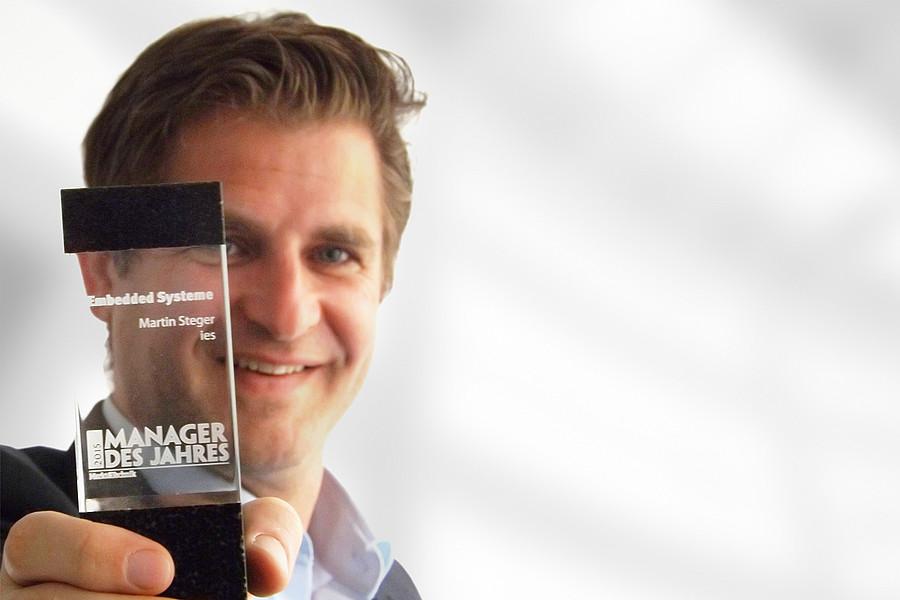 2015: Martin Steger wird zum Manager des Jahres gewählt