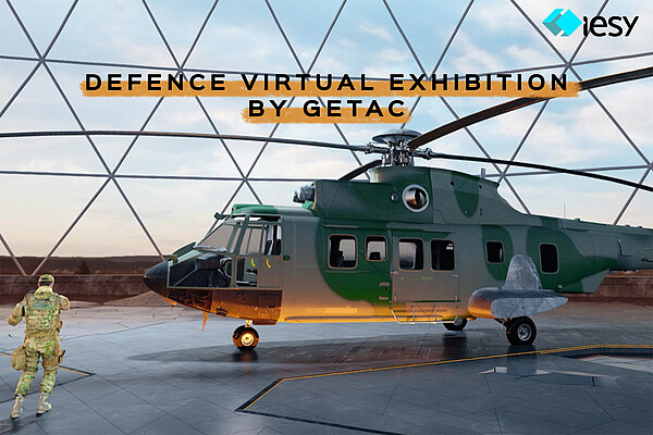 Die virtuelle 3D-Ausstellung von Getac