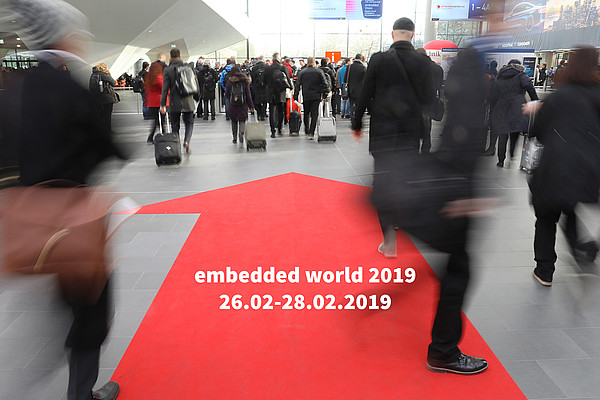 embedded world 2019 - Leading international fair for embedded systems from 26.02. to 28.02.2019