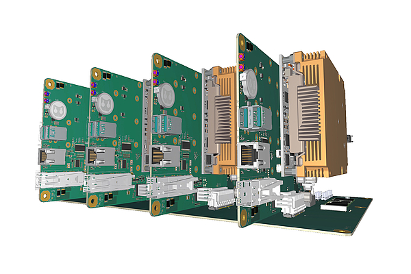 Quad server solution for high-performance applications