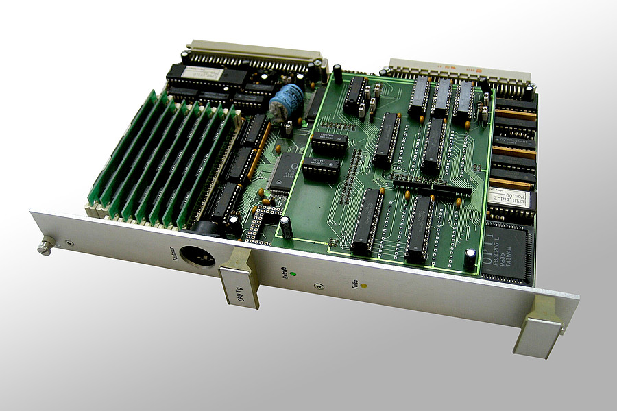 1991: Der erste x86 Einplatinen-PC 'CPU1'