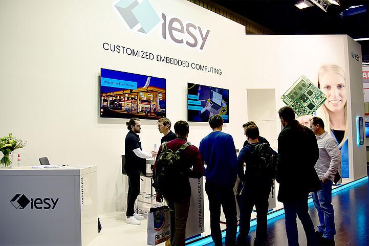 embedded world 2020 - iesy booth I-580