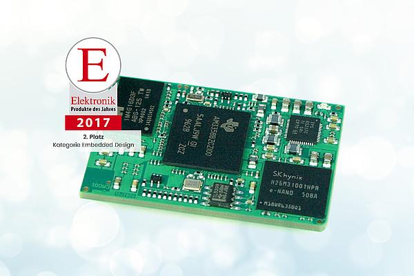 Produkt des Jahres 2017 - BeagleCore BCM1 ausgezeichnet