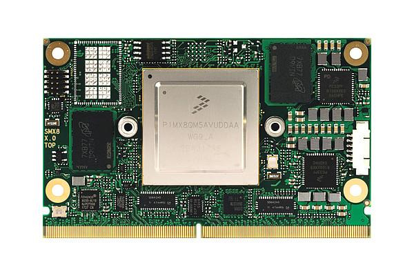 conga-SMX8 - SMARC 2.0 module by congatec