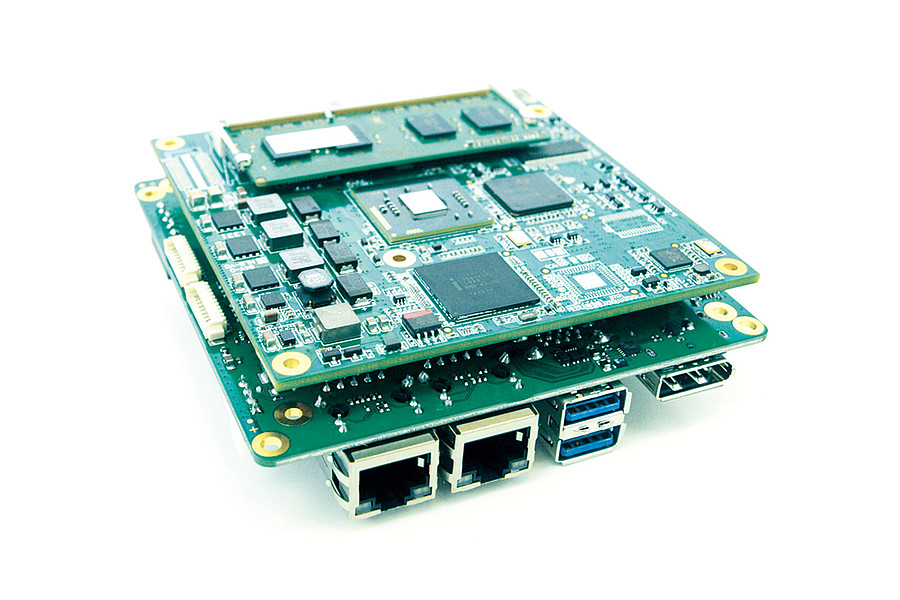 MB115 - embedded NUC Board mit COM Express compact von iesy