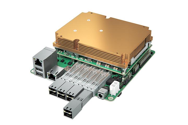 embedded mini-STX / 5×5 - Micro-Server auf Basis von COM Express Typ 7